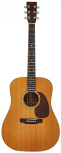 Musical Instruments:Acoustic Guitars, 1974 Martin D-28 Natural Acoustic Guitar, Serial # 353298....