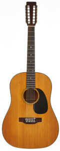 Musical Instruments:Acoustic Guitars, 1968 Martin D-12-20 Natural 12 String Acoustic Guitar, Serial # 237245....