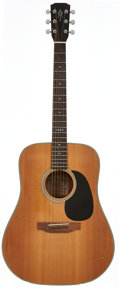 Musical Instruments:Acoustic Guitars, 1990 Alvarez by Yairi DY-38 Natural Acoustic Guitar, Serial #44635....