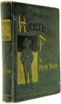 Books:Fiction, Mark Twain: The Adventures of Huckleberry Finn (New York: Charles L. Webster and Company, 1885), first edition, second s... (Total: 1 Item)