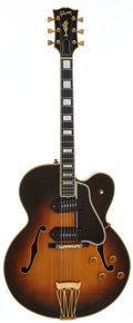 Musical Instruments:Electric Guitars, 1957 Gibson Byrdland Sunburst Semi-Hollow Body Electric Guitar,Serial # A25477....