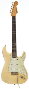 Musical Instruments:Electric Guitars, 1959 Fender Mary Kaye Stratocaster Blonde Solid Body ElectricGuitar, Serial # 40065....