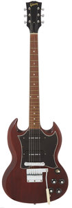Musical Instruments:Electric Guitars, 1969 Gibson SG-Special Cherry Solid Body Electric Guitar, Serial # 561489....