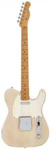 Musical Instruments:Electric Guitars, 1957 Fender Telecaster Blonde Solid Body Electric Guitar, Serial #-20380....