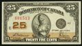 Canadian Currency: , DC-24c 25¢ 1923. ...