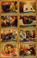 "Movie Posters:Action, The Daredevil Drivers (Warner Brothers, 1938). Lobby Card Set of 8(11"" X 14""). Action.. ... (Total: 8 Item)"