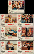 "Movie Posters:Sports, Winning (Universal, 1969). Lobby Cards (7) (11"" X 14""). Sports.. ... (Total: 7 Items)"