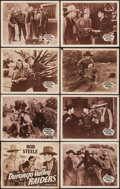 "Movie Posters:Western, Durango Valley Raiders (Republic, R-1940s). Lobby Card Set of 8(11"" X 14""). Western.. ... (Total: 8 Items)"