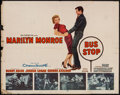 "Movie Posters:Drama, Bus Stop (20th Century Fox, 1956). Half Sheet (22"" X 28""). Drama....."