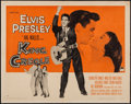 "Movie Posters:Elvis Presley, King Creole (Paramount, 1958). Half Sheet (22"" X 28"") Style A.Elvis Presley.. ..."