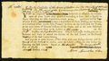 Colonial Notes:Massachusetts, Province of Massachusetts Bay, Sutton, Worcester County Petit JurySummons July 20, 1776 Very Fine.. ...