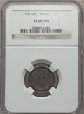 Mexico, Mexico: Republic Centavo 1916-Mo XF45 Brown NGC,...