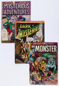 Golden Age (1938-1955):Horror, Comic Books - Assorted Golden Age Horror Comics Group (VariousPublishers, 1950s) Condition: GD+.... (Total: 4 Comic Books)