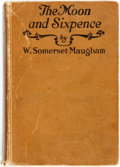 Books:Literature 1900-up, W. Somerset Maugham. INSCRIBED. The Moon and Sixpence. NewYork: George H. Doran, [1919]. Inscribed by the author ...