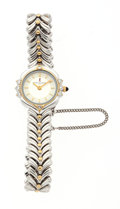 Luxury Accessories:Accessories, Roberta di Camerino Stainless Steel Watch with Crystal Accents ....