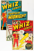 Golden Age (1938-1955):Miscellaneous, Fawcett Golden Age Comics Group (Fawcett Publications, 1940s) Condition: Average GD+.... (Total: 9 Comic Books)