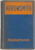 Books:Fiction, Sinclair Lewis. INSCRIBED. Arrowsmith. New York: Harcourt,Brace and Company, 1925. Inscribed by the author....