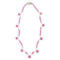 Estate Jewelry:Necklaces, Ruby, Freshwater Cultured Pearl Necklace. ...