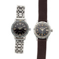 Timepieces:Wristwatch, Bulova & Zodiac Automatic Wristwatches Runners. ... (Total: 2Items)