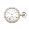 Timepieces:Pocket (pre 1900) , E. Howard & Co. Series 7 Pocket Watch. ...
