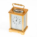 Timepieces:Clocks, French Carriage Clock For Repair. ...