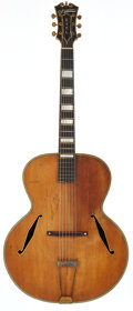 Musical Instruments:Acoustic Guitars, 1936 D'Angelico Excel Natural Archtop Acoustic Guitar, Serial # 1133....