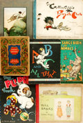 Books:Children's Books, [Children's Literature.] Group of Seven Children's Books. Variouspublishers and dates. One book, Tony Sarg's Book of Anim...(Total: 7 Items)