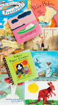 Books:Children's Books, [Children's Books.] Group of Nine Children's Books. SIGNED. Variouspublishers and dates. All books signed by their author... (Total: 9Items)