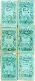 Books:Literature Pre-1900, [Serial Novel.] Charles Dickens. H. K. Browne, illustrator. Bleak House. Nos. I - XVII. [April 1852 - July 1853.] ... (Total: 17 Items)