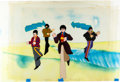 Animation Art:Production Cel, Yellow Submarine John, Paul, George, and Ringo ProductionCel Setup (United Artists/King Features, 1968).... (Total: 2Original Art)