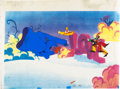 Animation Art:Production Cel, Yellow Submarine Production Cel Setup (United Artists/KingFeatures, 1968).... (Total: 4 Items)