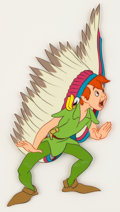 Animation Art:Production Cel, Peter Pan Peter Pan Production Cel (Walt Disney, 1953)....