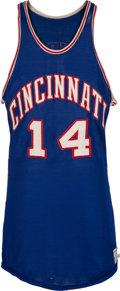 Basketball Collectibles:Uniforms, 1963-64 Oscar Robertson Game Worn Cincinnati Royals Jersey, MEARSA10....