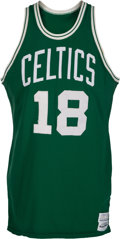 Basketball Collectibles:Uniforms, 1979-80 Dave Cowens Game Worn Boston Celtics Jersey, MEARS A10....
