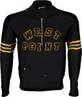 Football Collectibles:Uniforms, 1949-53 Vince Lombardi Game Worn US Army West Point Coaching Jacket, MEARS Authentic....