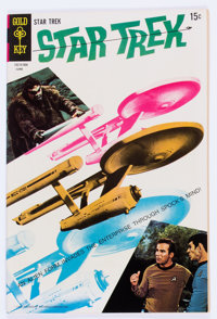 Star Trek #4 (Gold Key, 1969) Condition: NM-