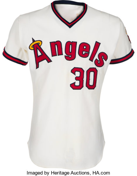 the best attitude 0ec8b 10c81 1973 Nolan Ryan Game Worn California Angels Jersey, MEARS A8 ...