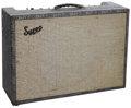 Musical Instruments:Amplifiers, PA, & Effects, 1963 Supro Model 1969TN Grey Guitar Amplifier....