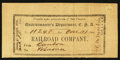 Confederate Notes:Group Lots, Quartermaster's Department One Seat Feb. 18, 1865.. ...