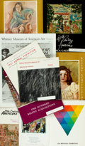 Books:Art & Architecture, [American Art]. Group of Ten Books/Catalogs on American Art. Various publishers and dates. ...