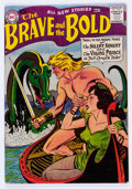Silver Age (1956-1969):Adventure, The Brave and the Bold #17 (DC, 1958) Condition: FN....