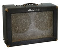Musical Instruments:Amplifiers, PA, & Effects, 1960 Ampeg Model 720 Accordiamp Blue Guitar Amplifier, Serial # 910201....
