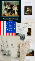 Books:Art & Architecture, [American Painting]. Group of Eight Books on American Painting from the 1700-1800s. Various publishers and dates. ...
