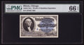 "Miscellaneous:Other, World's Columbian Exposition Washington ""A"" Ticket 1893 PMG GemUncirculated 66 EPQ.. ..."