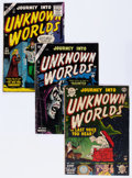 Golden Age (1938-1955):Horror, Journey Into Unknown Worlds Group (Atlas, 1952-56) Condition:Average GD.... (Total: 4 Comic Books)
