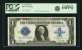 Large Size:Silver Certificates, Fr. 238 $1 1923 Silver Certificate PCGS Very Choice New 64PPQ.. ...