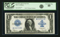 Fr. 237* $1 1923 Silver Certificate PCGS Extremely Fine 40