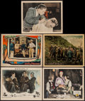 """Movie Posters:Mystery, It is the Law & Others Lot (Fox, 1924). Lobby Cards (5) (11"""" X14""""). Mystery.. ... (Total: 5 Items)"""