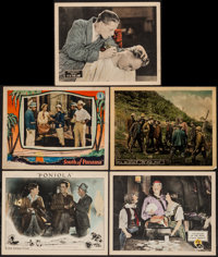 "It is the Law & Others Lot (Fox, 1924). Lobby Cards (5) (11"" X 14""). Mystery. ... (Total: 5 Items)"