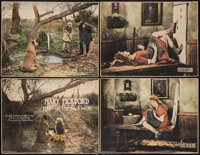 """Through the Back Door (United Artists, 1921). Trimmed Title Lobby Card & Lobby Cards (3) (10.25"""" X 13""""). D..."""